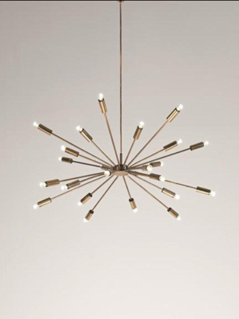 gino sarfatti sputnik chandelier. Black Bedroom Furniture Sets. Home Design Ideas