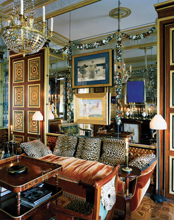 An opulent interior by jacques garcia - Decoration jacques garcia ...