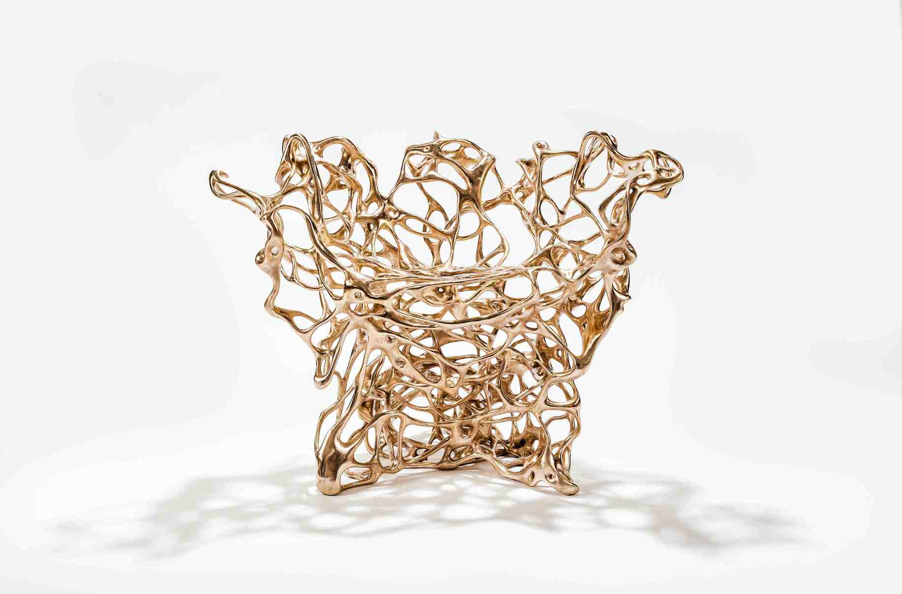 Mathias Bengtsson Bronze Chair