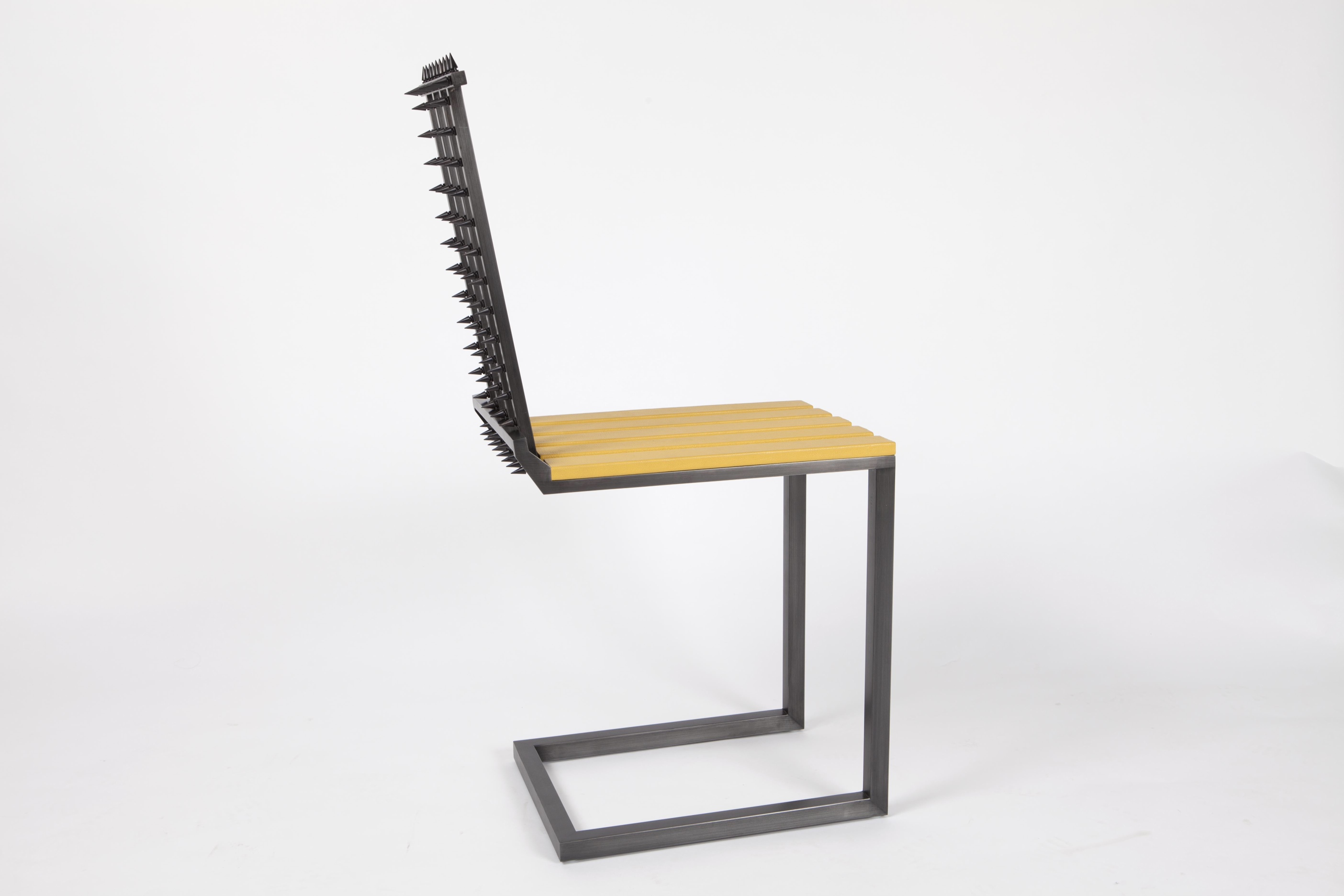Majd Bazerji Table Chaise Gothique Galerie Patrick Fourtin (
