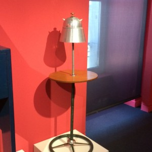 Futurist lamp-table 'ready-made' (1930) by Thayaht