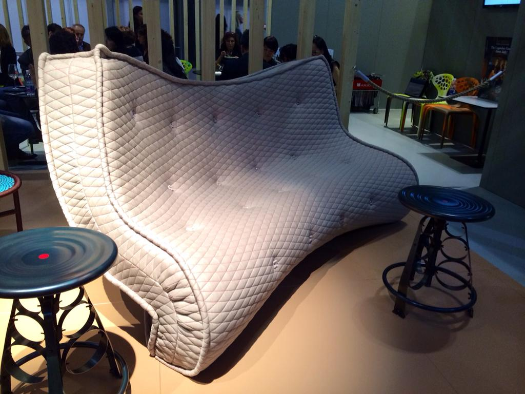 Matrizia Sofa By Ron Arad For Moroso.