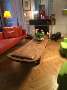 Wooden table (African table:bed) (Image 10)240x50cm