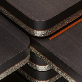 Detail of modulable 28 table by Beatrice Blanchard