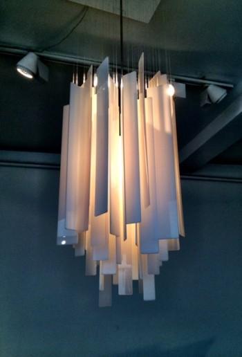 Hanging light by Miranda Watkins