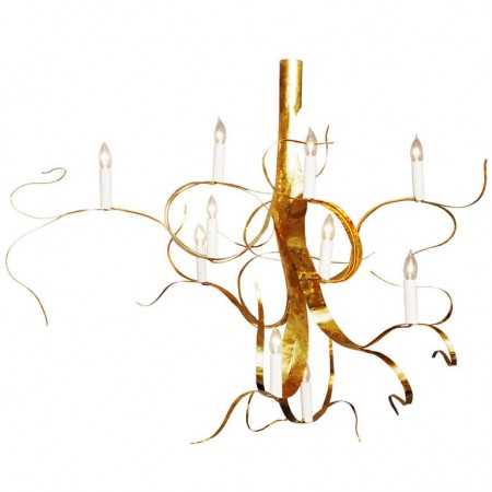 Fiori chandelier by Jacques Jarrigejpg