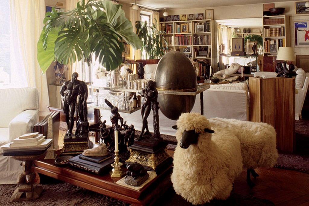 The library of Yves Saint Laurent and Pierre Bergé