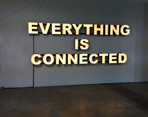 Peter Liversidge Everything is Connected Andrea Hazen