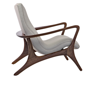 175E Contour Lounge Side Chair. Designed c 1958.