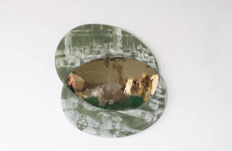'Nostalgia Futuro 1' mirror, 2016 by Sam Orlando Miller.