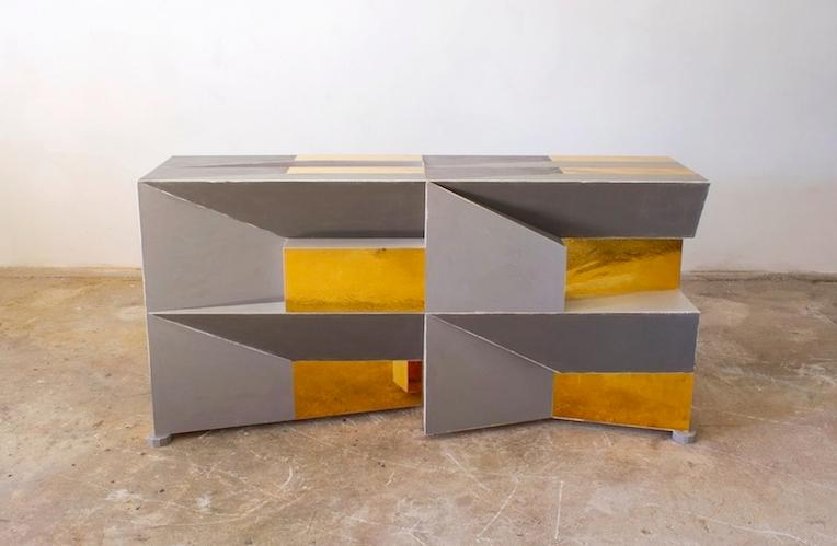 'Sguardo Cubetti 1, 2016 by Sam Orlando Miller