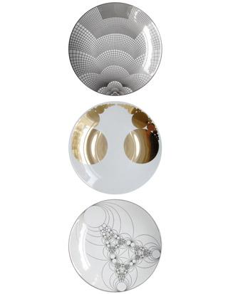 Plates by Emmanuel Bossuet.