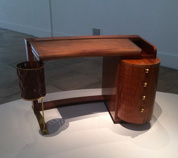 Rosewood ladies desk by Albert Gueniot