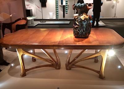 Jacques Lacoste, Hector Guimard table.