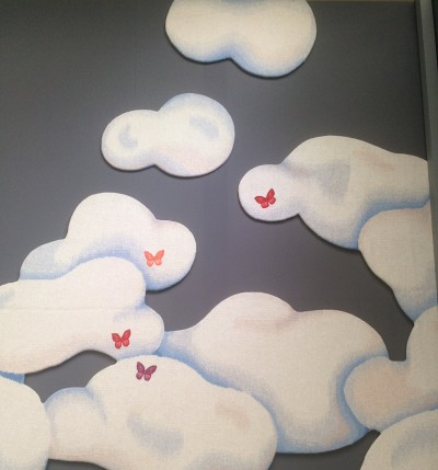 'Nuages' Van Cleef and Arpels commission. Jean Baptiste Auvray in collaboration with Robert Four Aubusson manufacturer