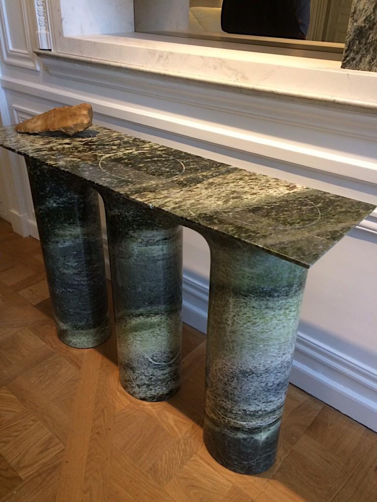 Mathieu Lehanneur marble console